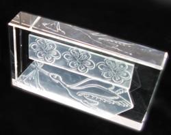 ClearStamp - Motivstempel aus Glas